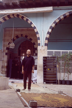 Rachid Koraïchi, the tomb of Ibn Arabi in Damascus, Syria