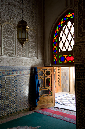Mausoleum of the Sheikh in Fez, Morocco