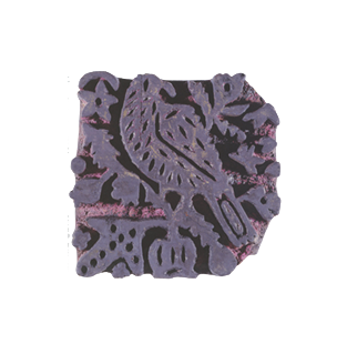 Ancient stamp from Aleppo, Syria, artist's collection